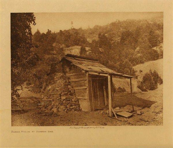 Excellent Karok House At Soames Bar Native American Tribe Karok Download Free Architecture Designs Embacsunscenecom