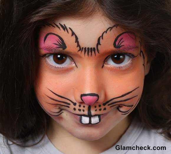 Cute Halloween Costume Makeup Ideas For Kids With Images Girl