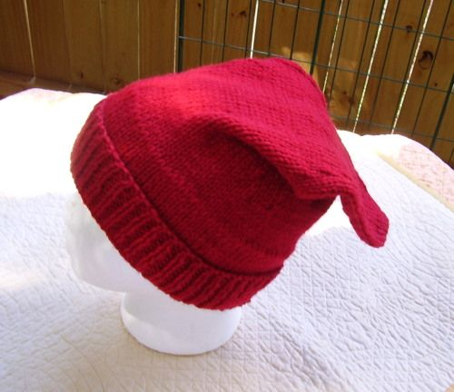 d2d39b165486b Voyageur Knitted Cap-Rachels Niche Voyageur Cap 1700 s hand knitted wool  acrylic yarn