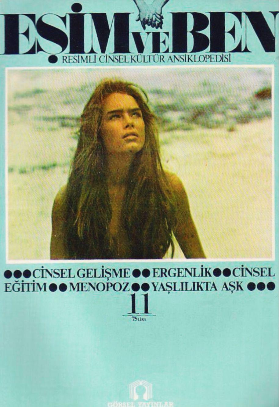 Brooke Shields Covers Esim Ve Ben Turkey June 7 1982 Esime