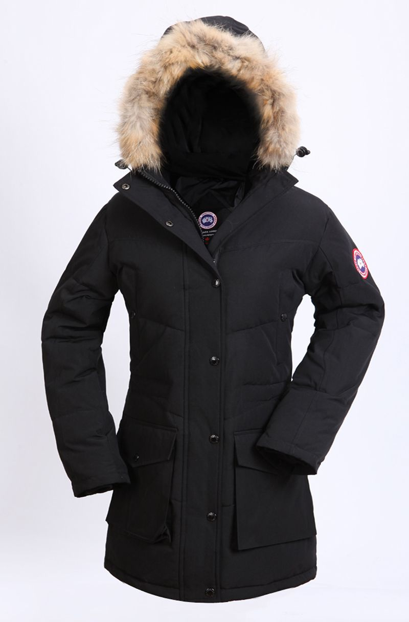 canada goose 2014 new jacket black womens