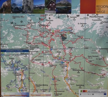 Landkarte Map Styria Trag 246 Ss Gr 252 Ner See My Austria Map