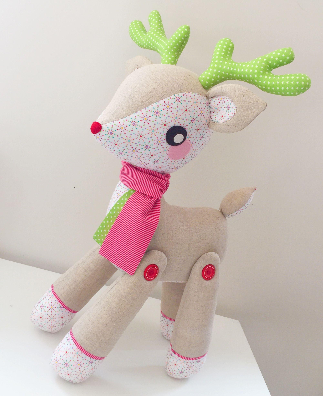 26+ Amazing Image of Reindeer Sewing Pattern - figswoodfiredbistro.com #sewingtoys