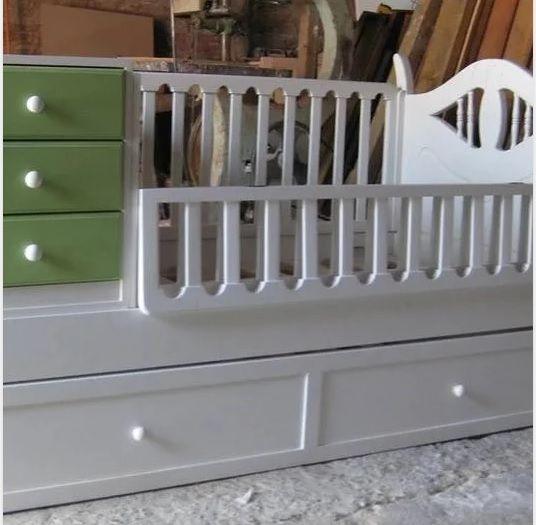 Cuna convertible Antofagasta, muebles para el cuarto del bebé ...