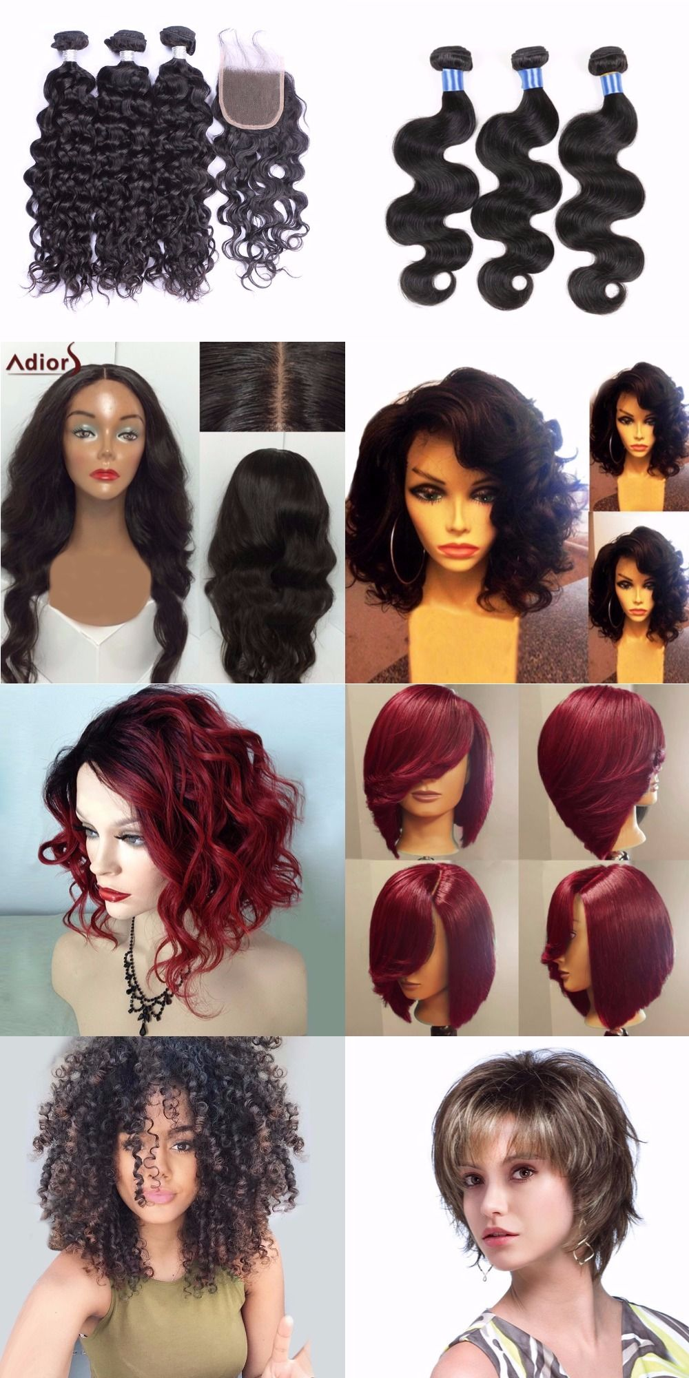 Freeshipping 500 Trendy Wigs For Your Hair Style Start From 2 99 Up To 65 Off Sammydress Com Wig Hairstyles Human Hair Wigs Barbie Hair