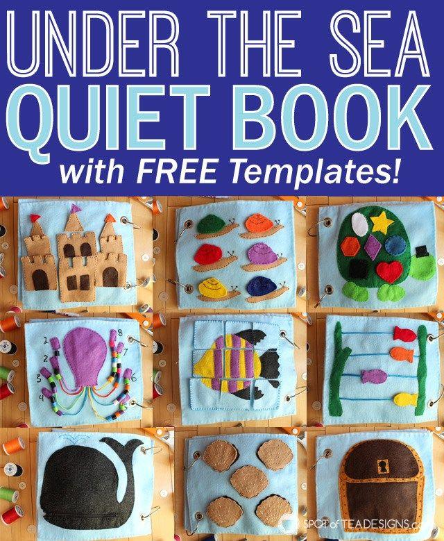 Quiet Book 3 Handmade