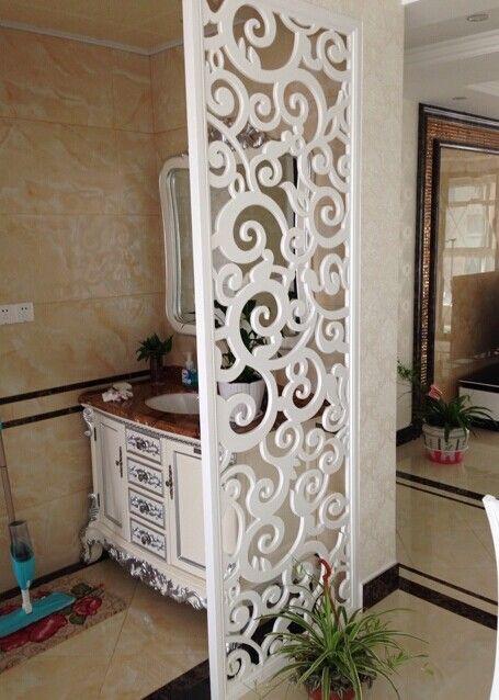 Wohnzimmer - geschnitzte tafel aushöhlung des geschnitzten partition