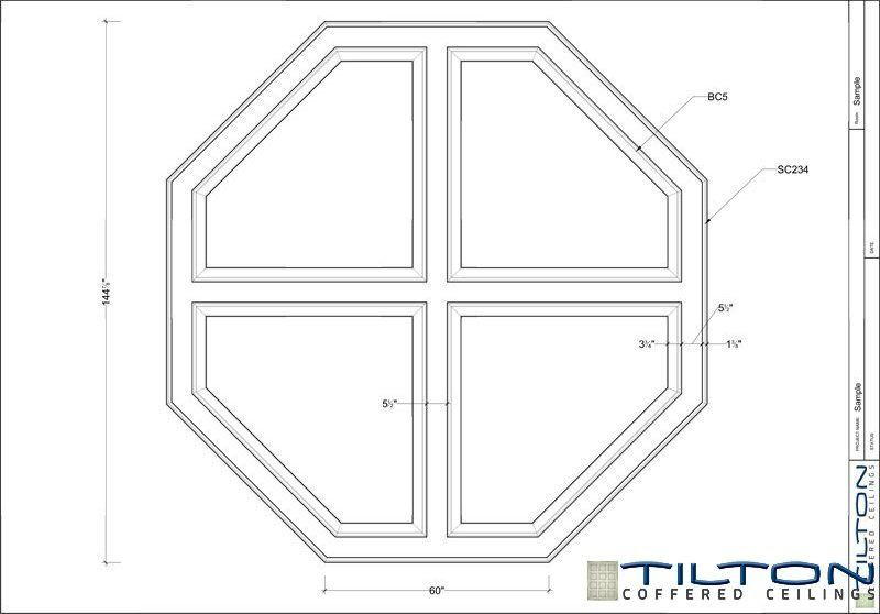 Coffered Ceiling Design Drawing Octagon Ceiling 03 Coffered Ceiling Design Ceiling Design Coffered Ceiling
