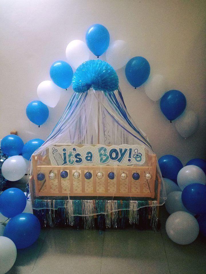 Novel Cradle Decor Idea Naming Ceremony Decoration Baby Shower Decorations Baby Boy Decorations