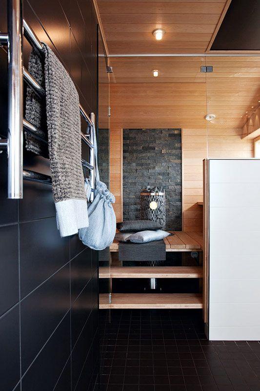 Pin lis j lt neea v is nen taulussa sauna - Construccion de saunas ...