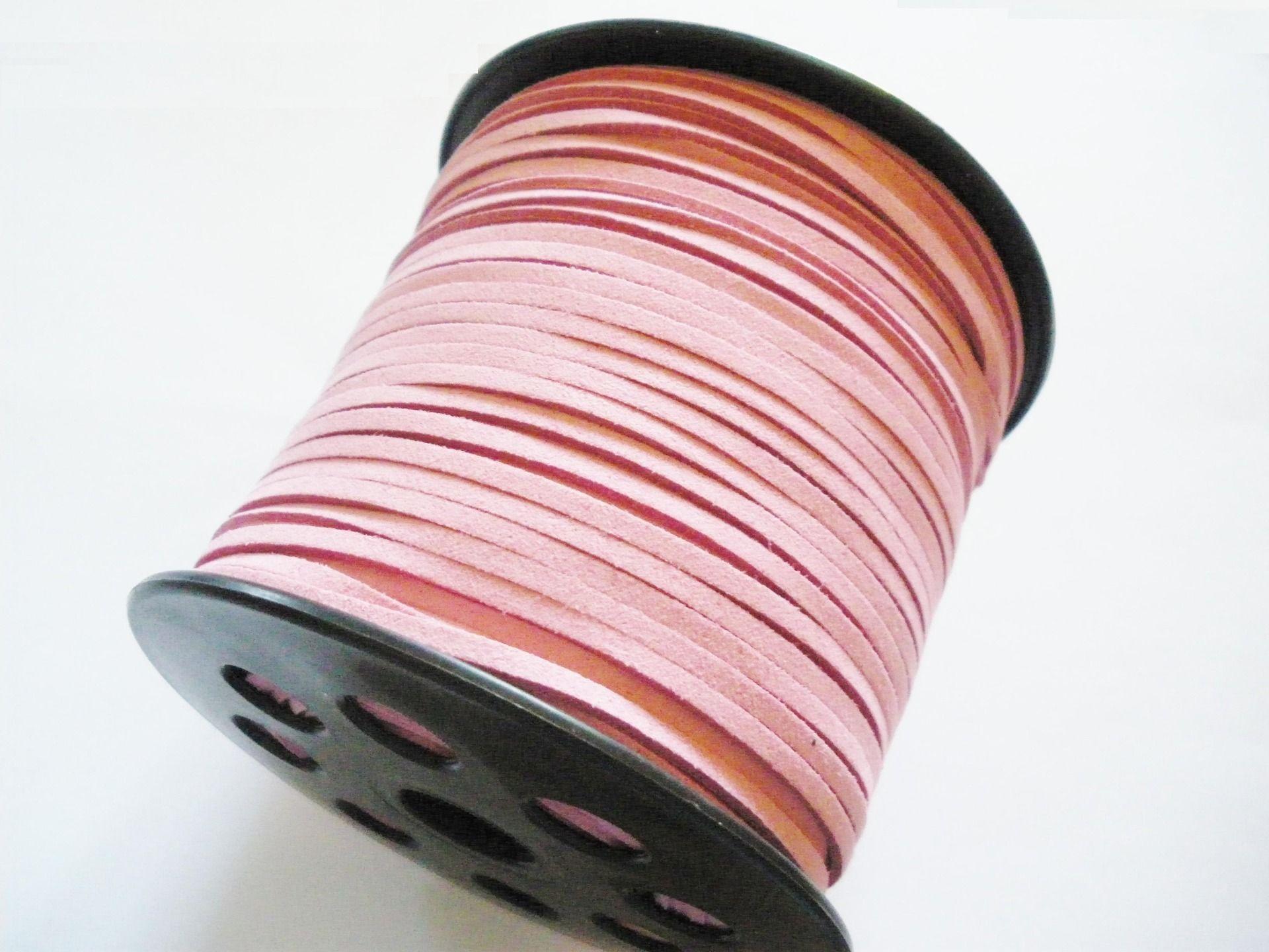 Corde Cuir suédine 1,5mm  pour bijoux collier bracelet perles  leather cord