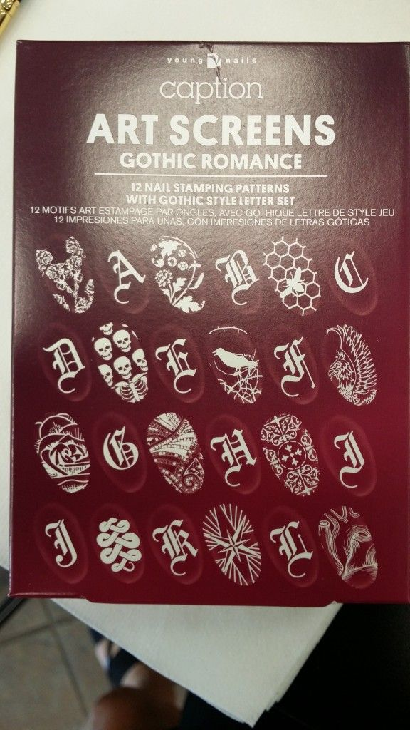 Young Nails Stamping Plates Seriously
