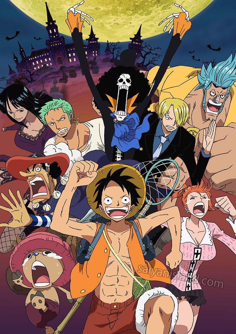 One Piece Thriller Bark Dvd Coming To North America In May One Piece Anime One Piece Manga One Piece Luffy
