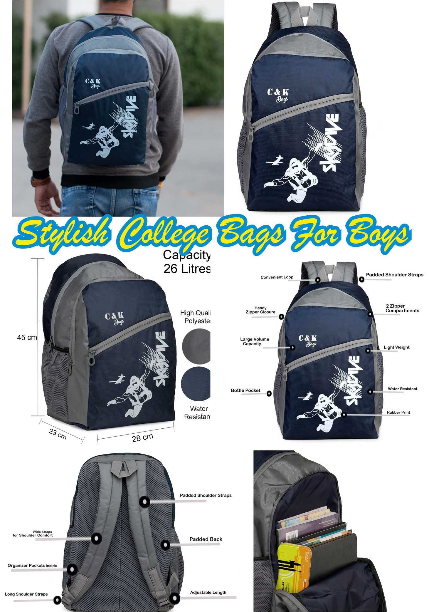 98da7c6d506f If you are finding college bags for girl or college bags flipkart then you  are in