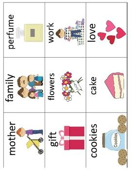All about my mother mini books template with vocabulary cards all about my mother mini books template with vocabulary cards mothers day maxwellsz