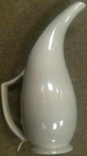 Red Wing Pottery Pitcher With A Long Narrow Opening On Top