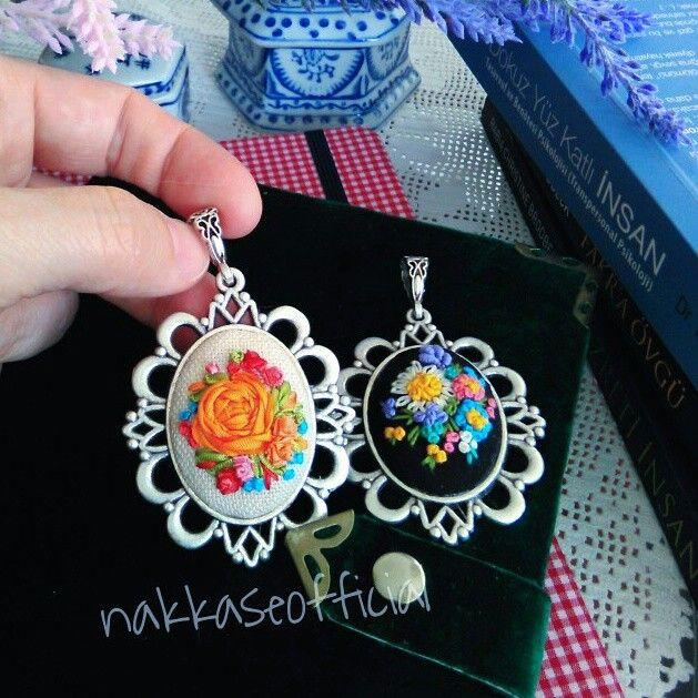 #embroidery #kurdelenakisi #ribbon #silkribbon