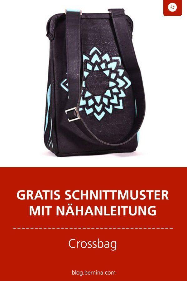 Photo of Tutorial: Designertasche (Crossbag) nähen – mit gratis Schnittmuster