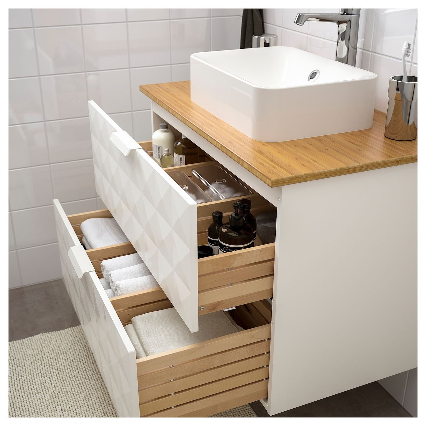 plan travail salle de bain ikea  idées de décoration
