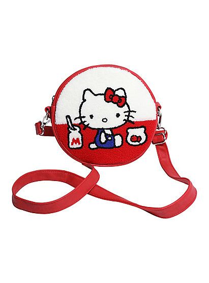 Loungefly x Sanrio Hello Kitty Milk Bottle Crossbody Bag