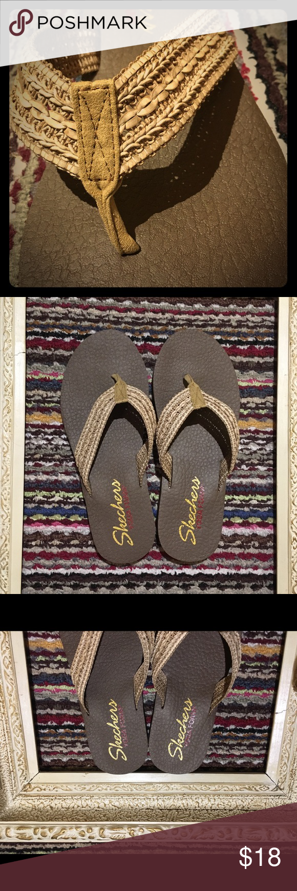 dbf986281655 NWOT Skechers Meditation Zen Summer Sandal Achieve a state of perfect  tranquility in super cute style