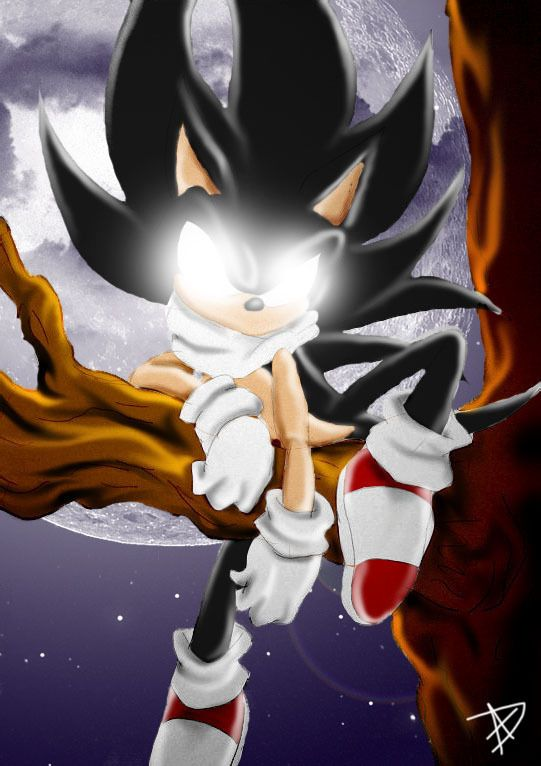 Dark+Sonic+the+Hedgehog   Sonic the Hedgehog Dark Sonic in ...