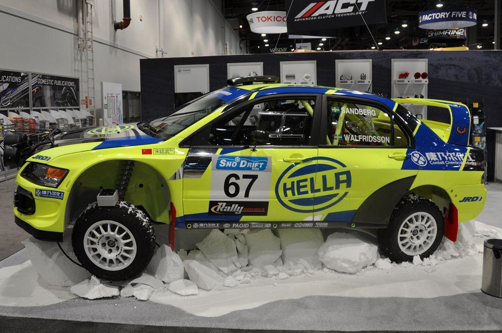 JRD Motorsport Mitsubishi Evo 9 Rally Car | Ralley Cross | Pinterest ...