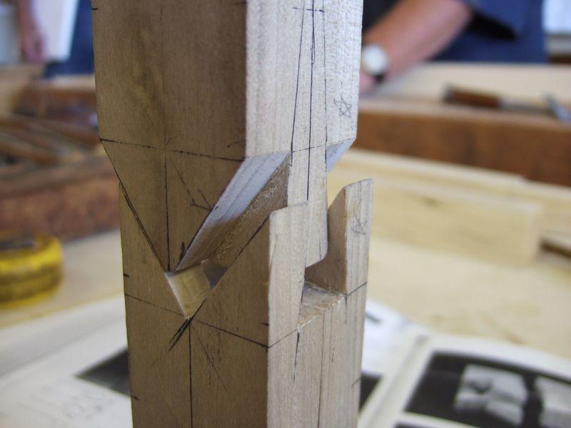Japanese Splicing Wood Joint Exhibit 2 Mobilya