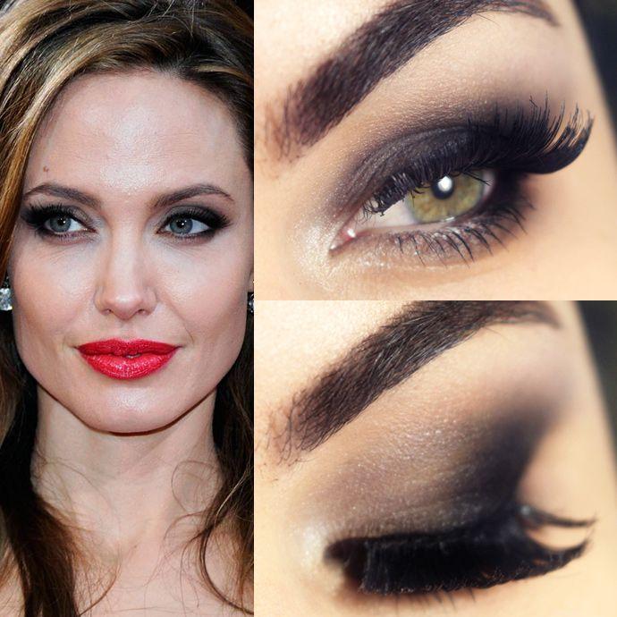 Tutorial – maquiagem clássica inspirada em Angelina Jolie