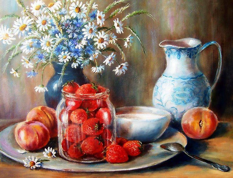 Ольга Воробьева | Раскраска по цифрам, Краска, Картины