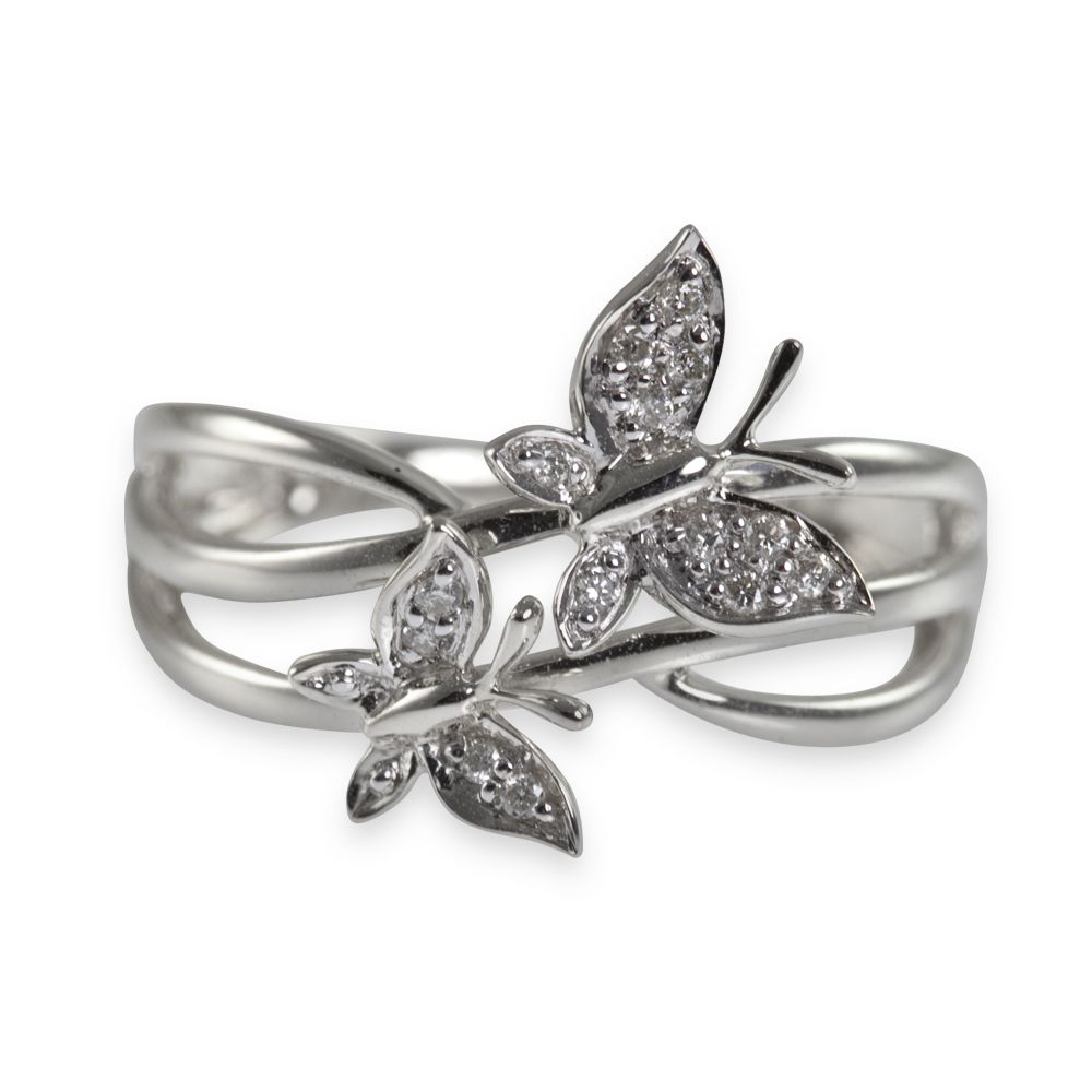 youtube and watch collection butterfly vivara rose rings diamond gold ring