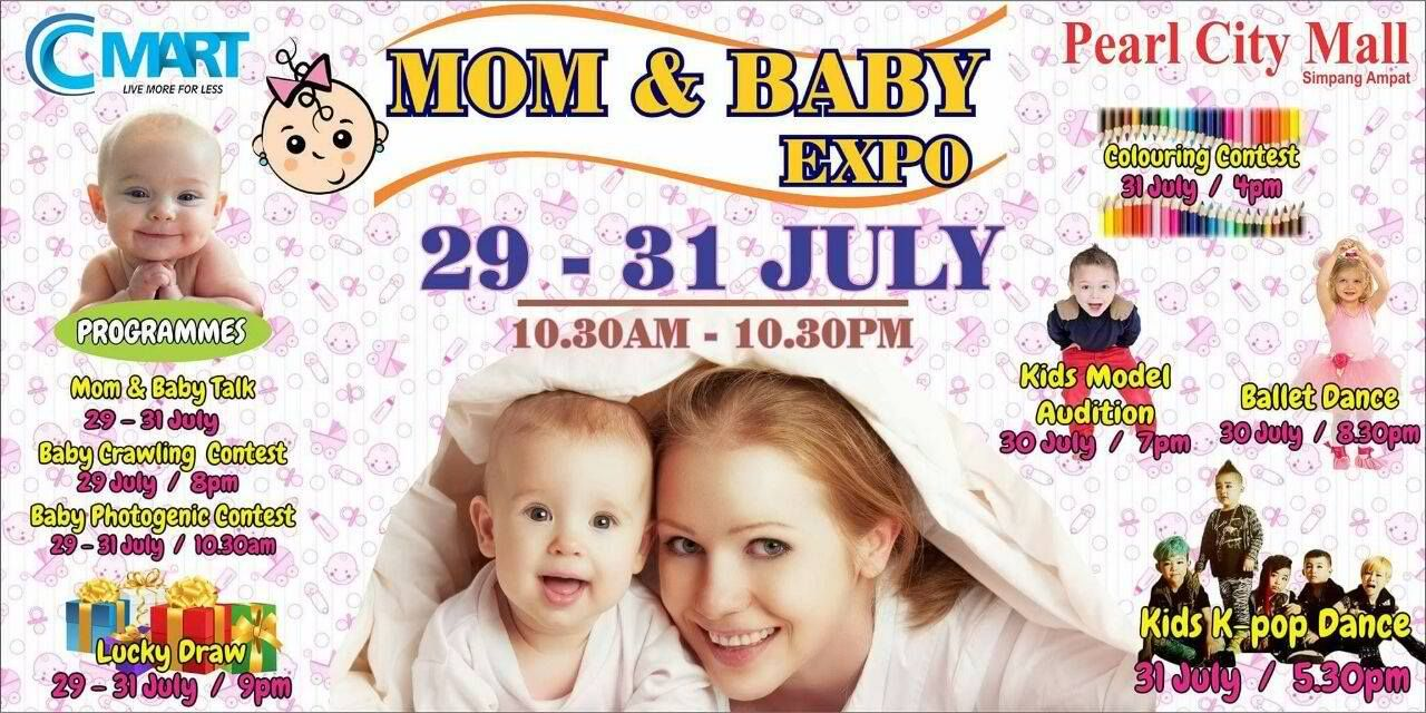 CMart Mom & Baby Expo at Pearl City Mall Malaysia (With ...