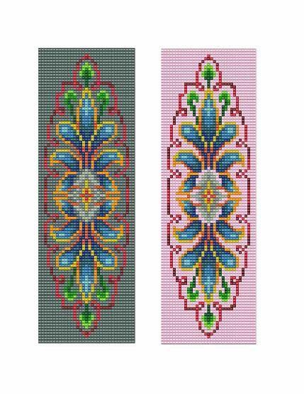 Bead Loom Vintage Motif 6 Bracelet Pattern PDF от MyTreasureIsland