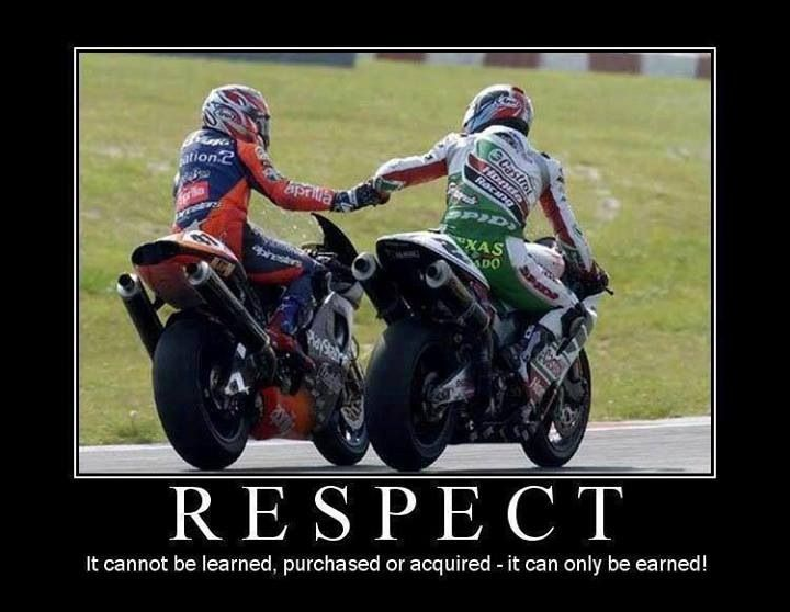 Respect Motorcycle Memes Motorcycle Humor Bike Quotes