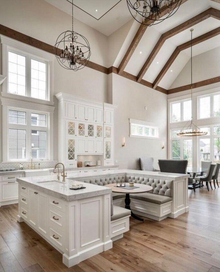 Ich liebe diese Idee des Tisches und der Stände innerhalb der Insel South Carolina Swe ... - Schönes Leben jung #homeentertainment