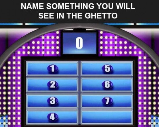 The Top 8 Funniest Ghetto Family Feud Questions | Humor ...