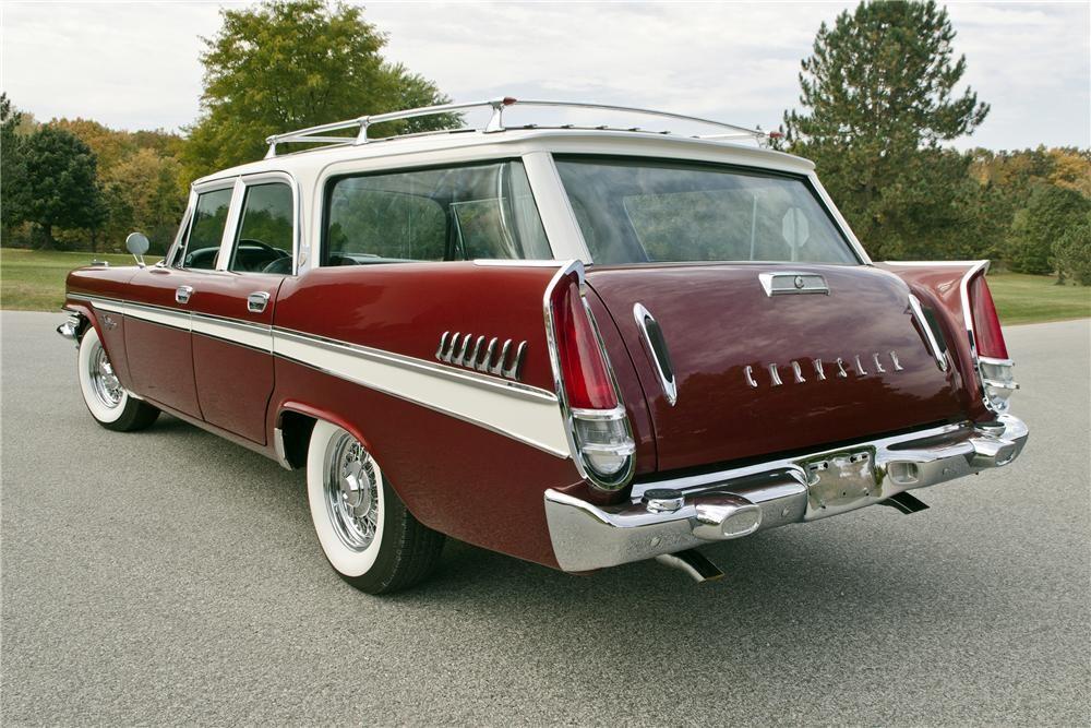 1957 Chrysler Windsor Wagon | Classic Cars | Pinterest | Cars