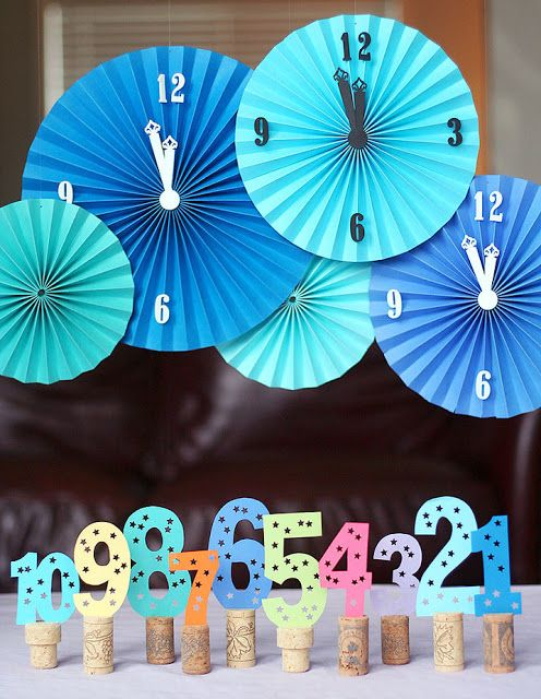 Crafty New Year's Eve Decoration Ideas | Diy new years eve ...