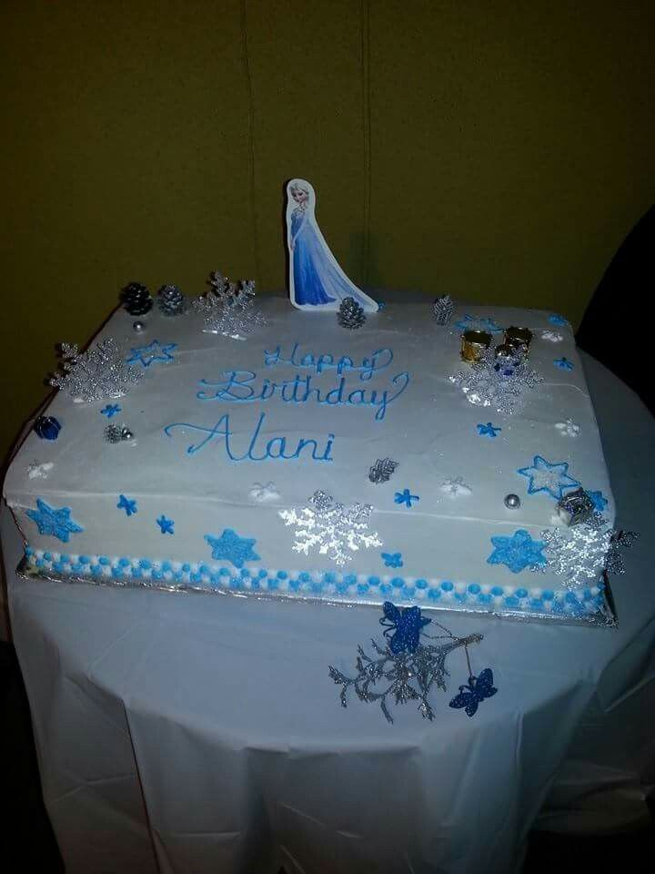 Alani's Birthday cake!