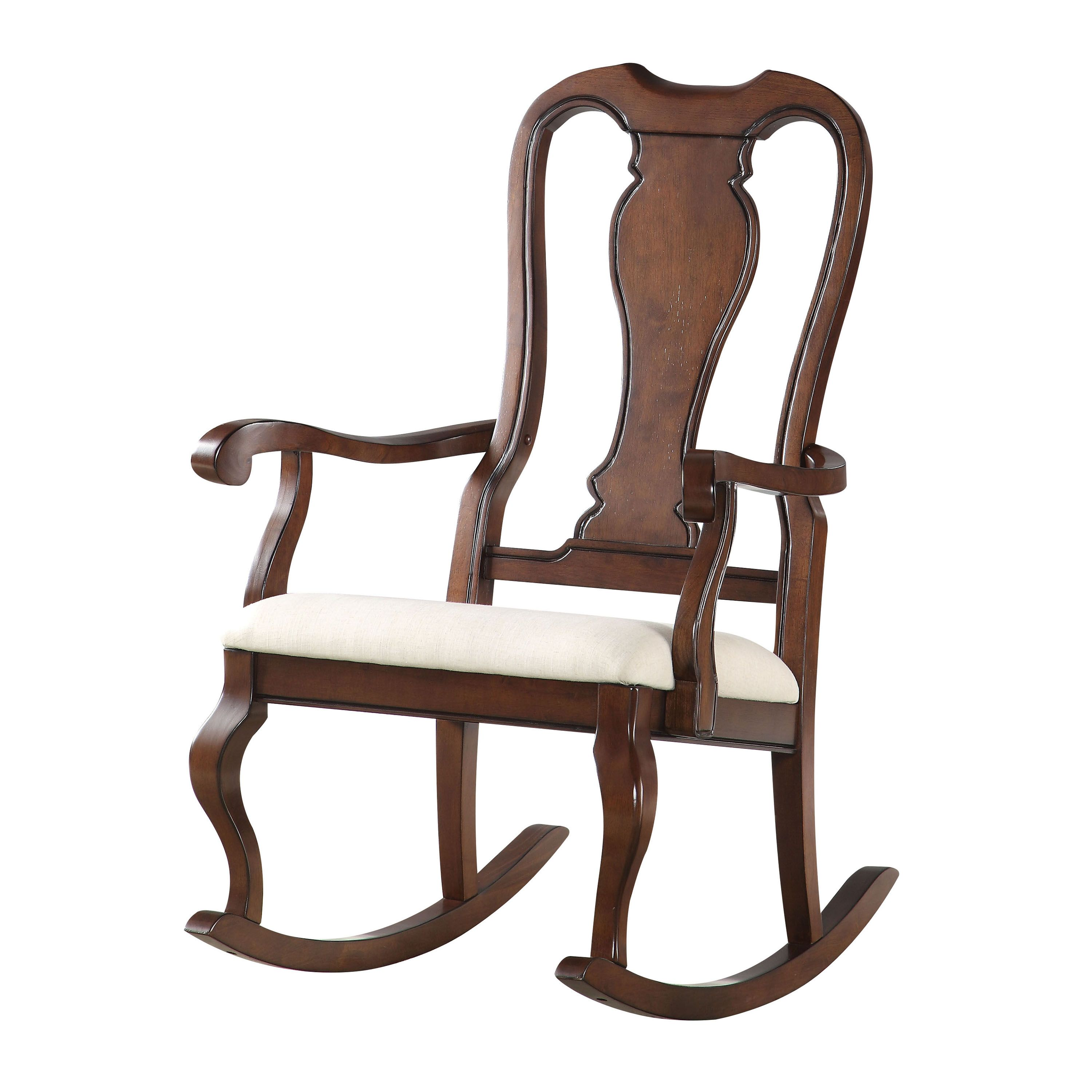 Better Homes & Gardens Shaker Patio Rocking Chair in Black
