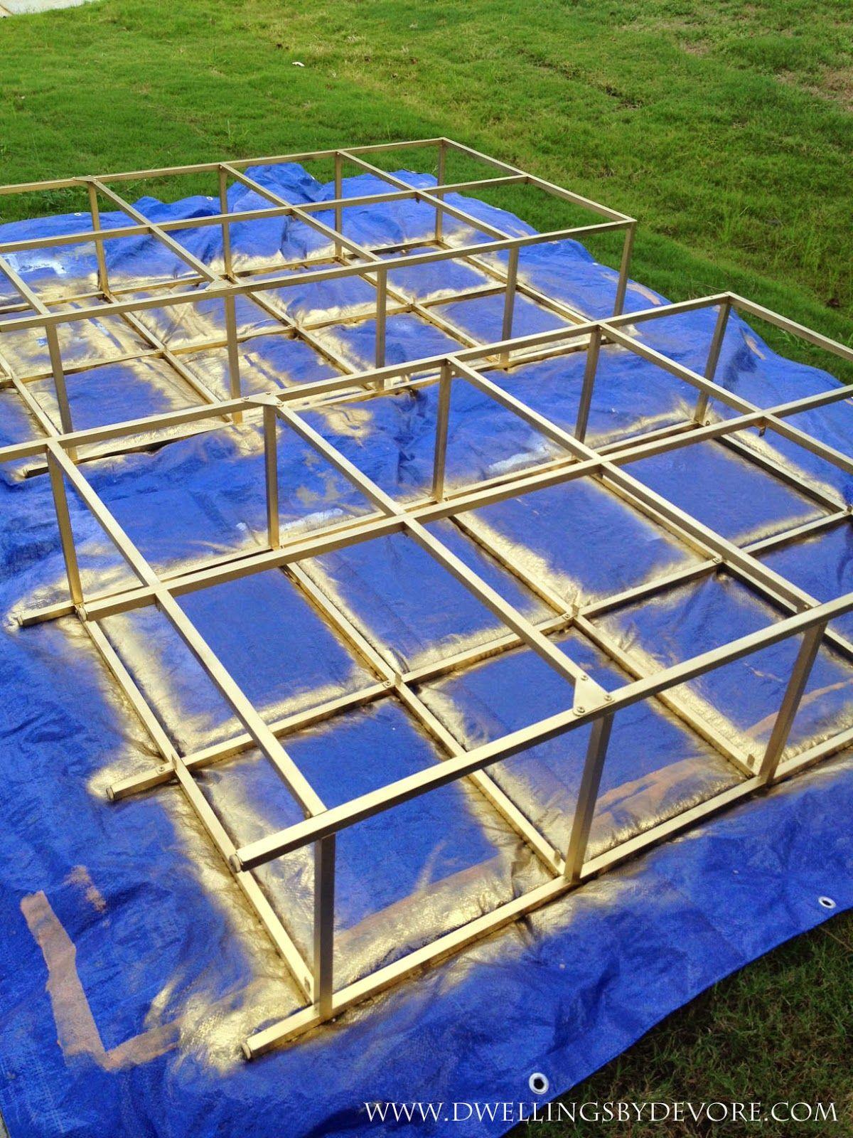ikea shelf unit ikea and gold paint on pinterest. Black Bedroom Furniture Sets. Home Design Ideas