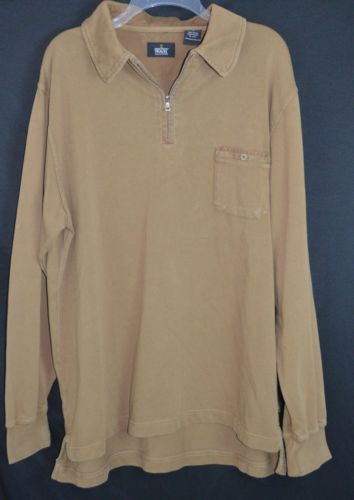 National Geographic Travel Collection Size Large Pullover ¼ Zip Shirt Jacket 2 | eBay