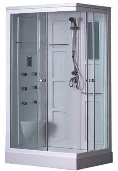Enclosed Showers the sp70l is a fully enclosed, low tray, rectangular shower cabin