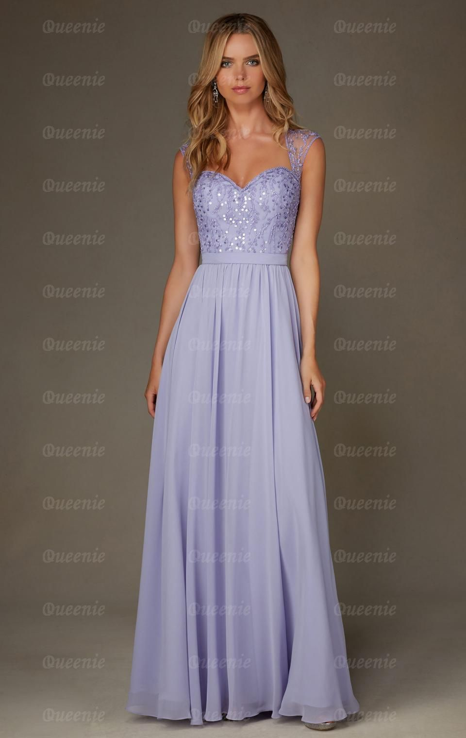 Online Lilac Bridesmaid Dress BNNCL0015-Bridesmaid UK | Brides ...