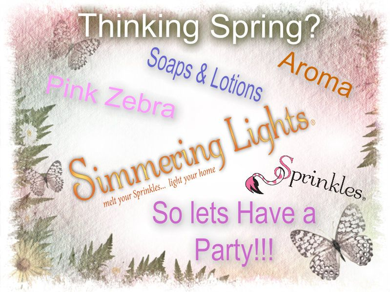 Thinking Spring?? lets have a party Pink Zebra Pinterest Pink - check request forms
