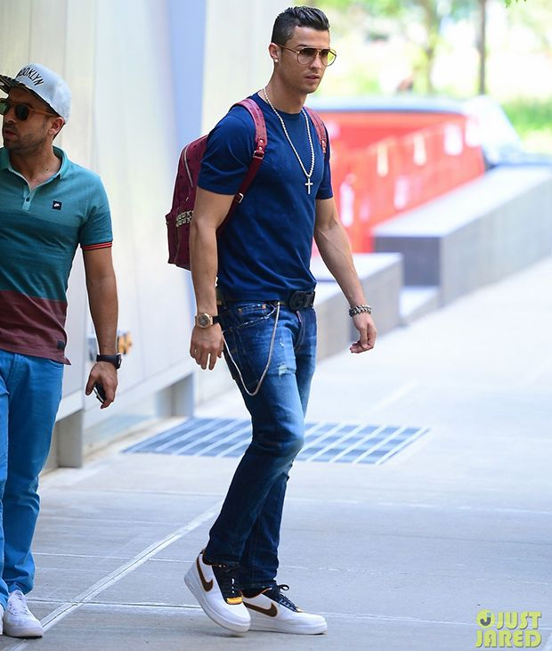 Cristiano Ronaldo in the Nike R.T. Air Force 1 Low