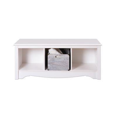 Prepac Furniture Bedroom Bench Wsc 4820 Monterey Cubbie