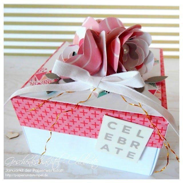 Verpackung | Geschenkschachtel | Celebrate – Papers & Stamps