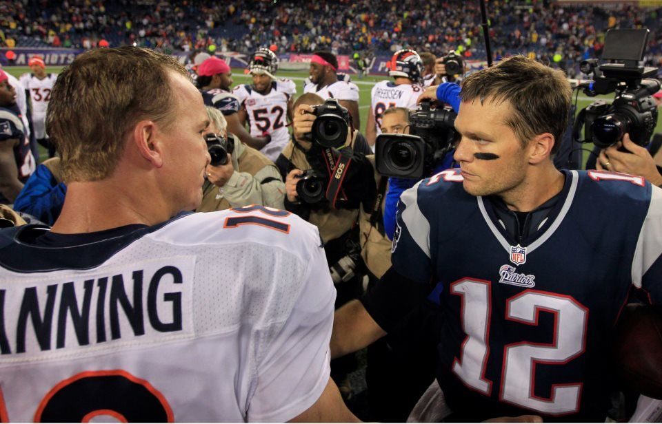 Brady and Manning | All things Sports... | Pinterest