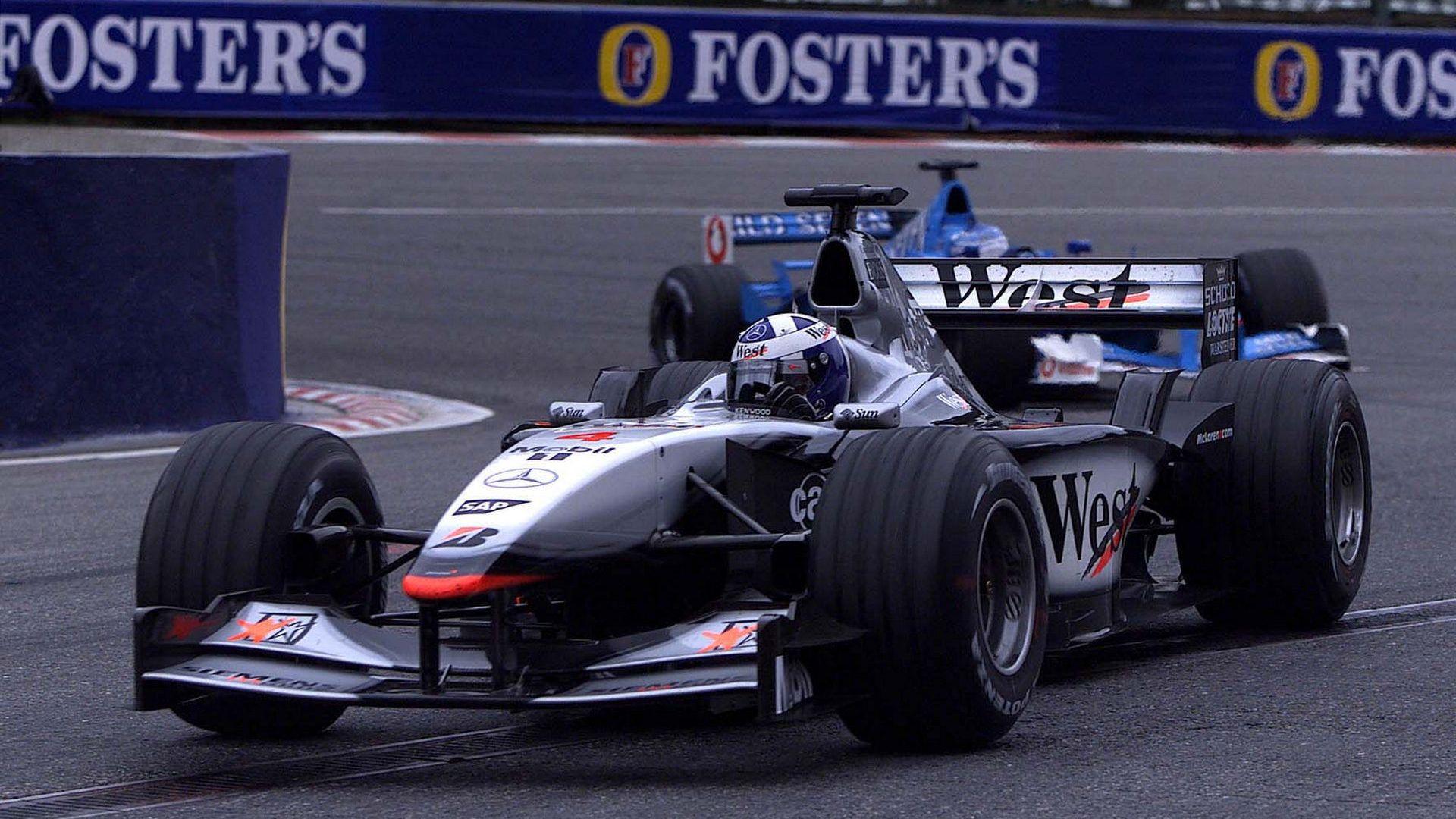 david coulthard - mclaren mp4-16 - 2001 | formula 1 | pinterest